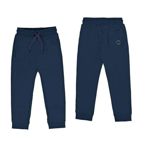 Cuff Fleece Trousers 742 Navy